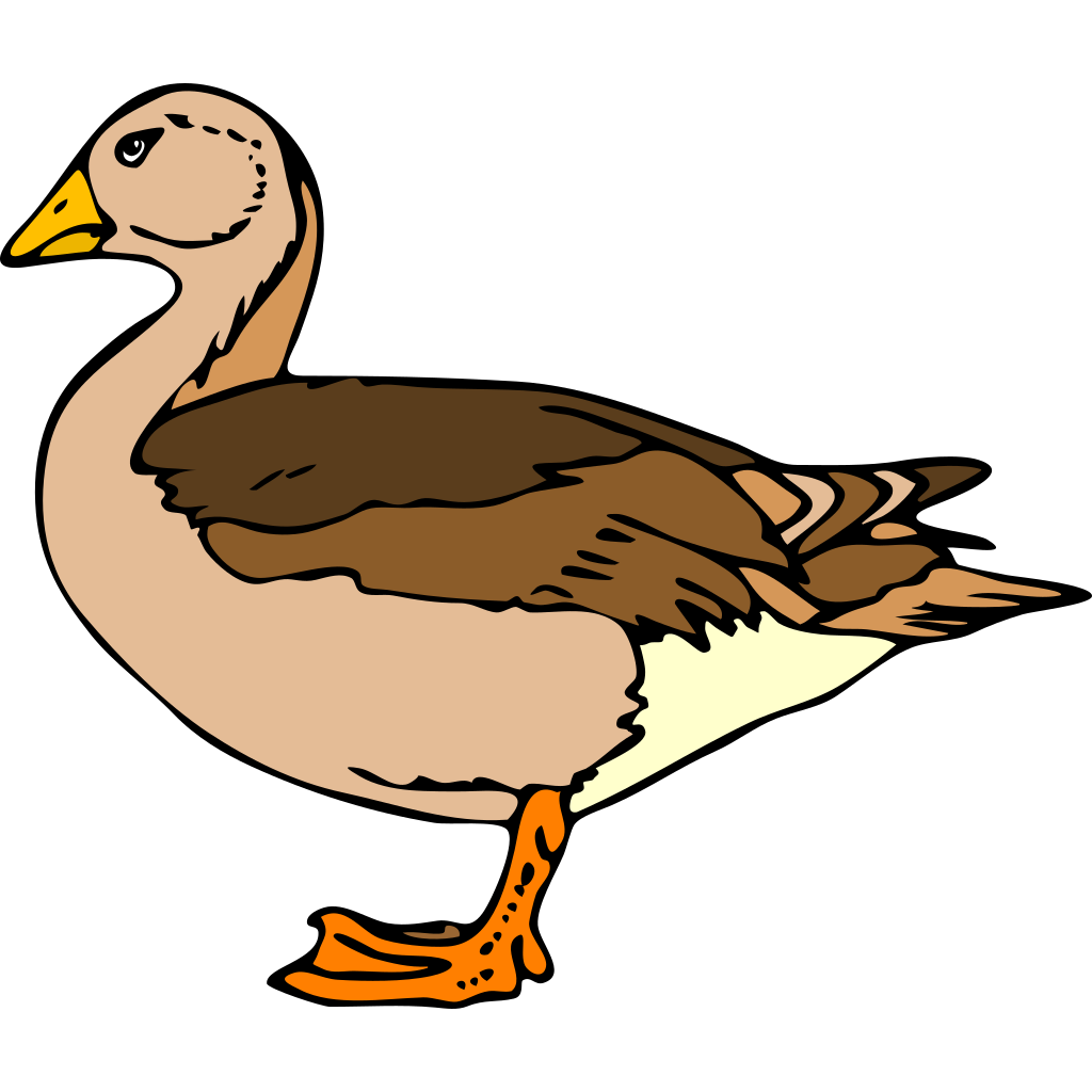 Duck Decoy SVG Clip arts