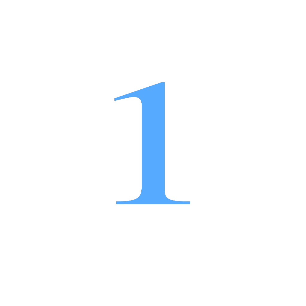 1 Countdown SVG Clip arts