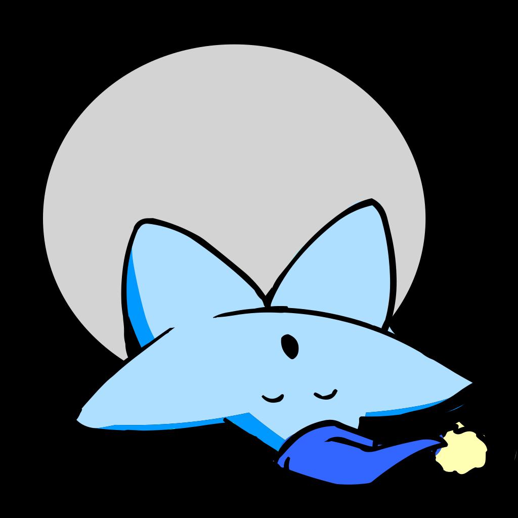 Lazy Sleeping Barnstar SVG Clip arts
