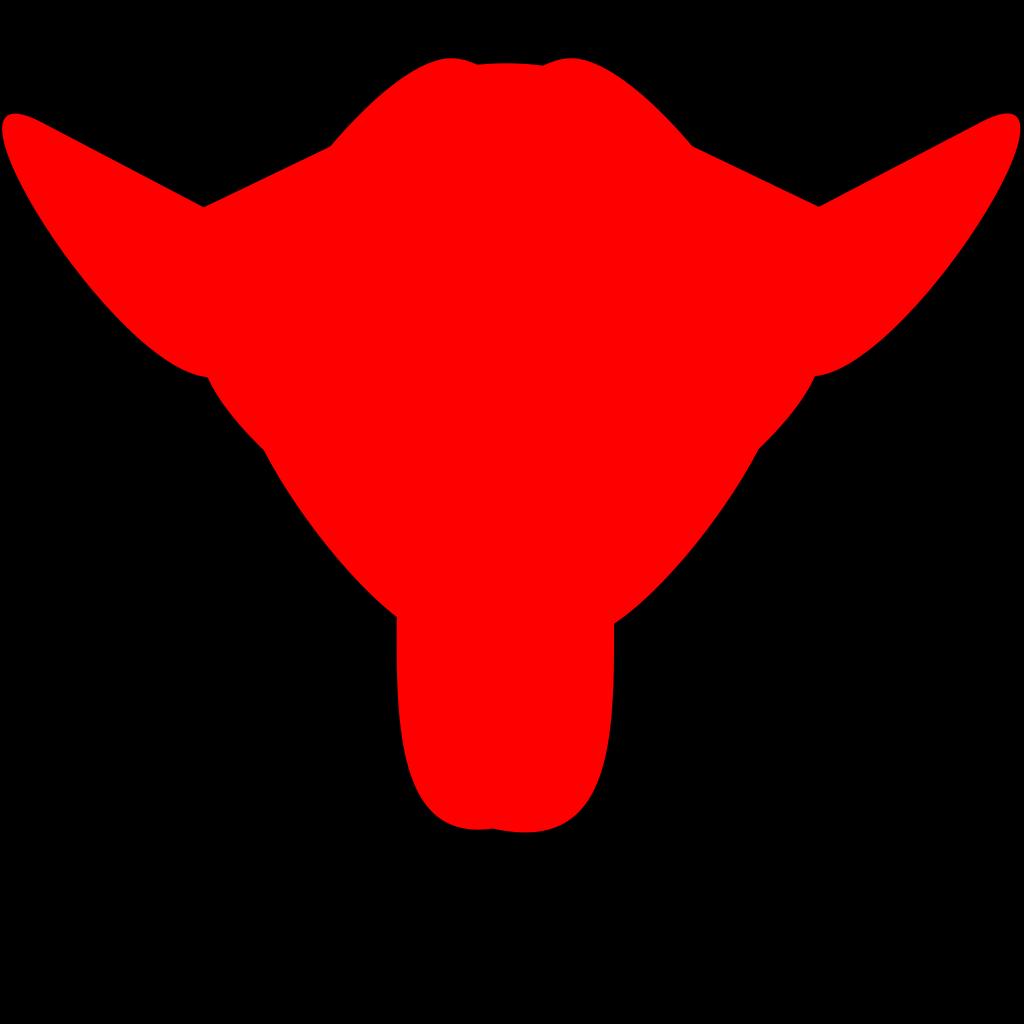 Bull SVG Clip arts