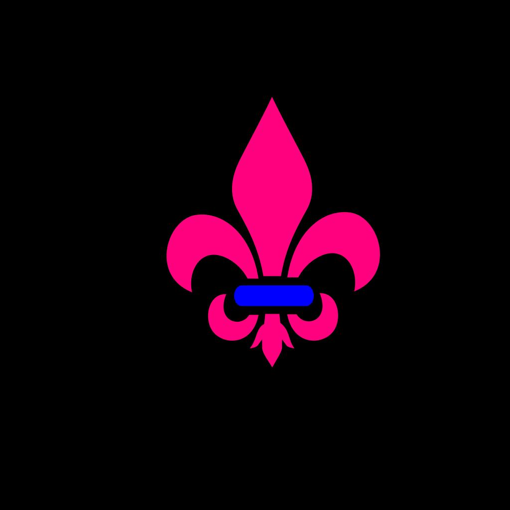 Fleur De Les SVG Clip arts