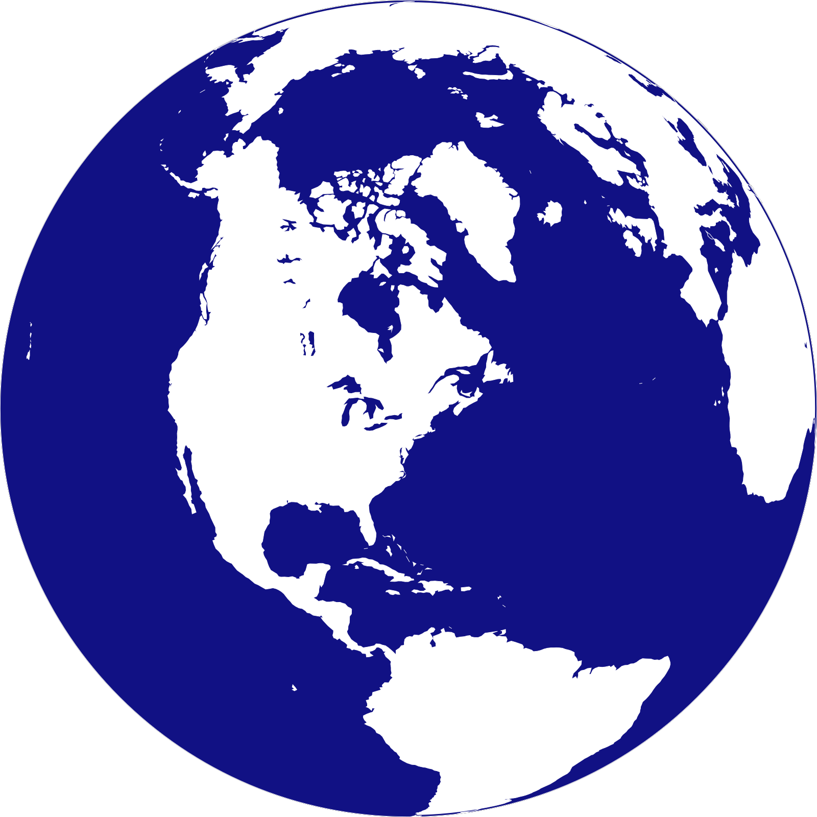 Poke globe svg