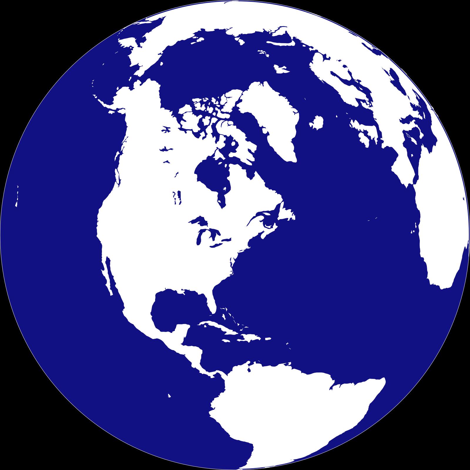 Poke globe SVG Clip arts