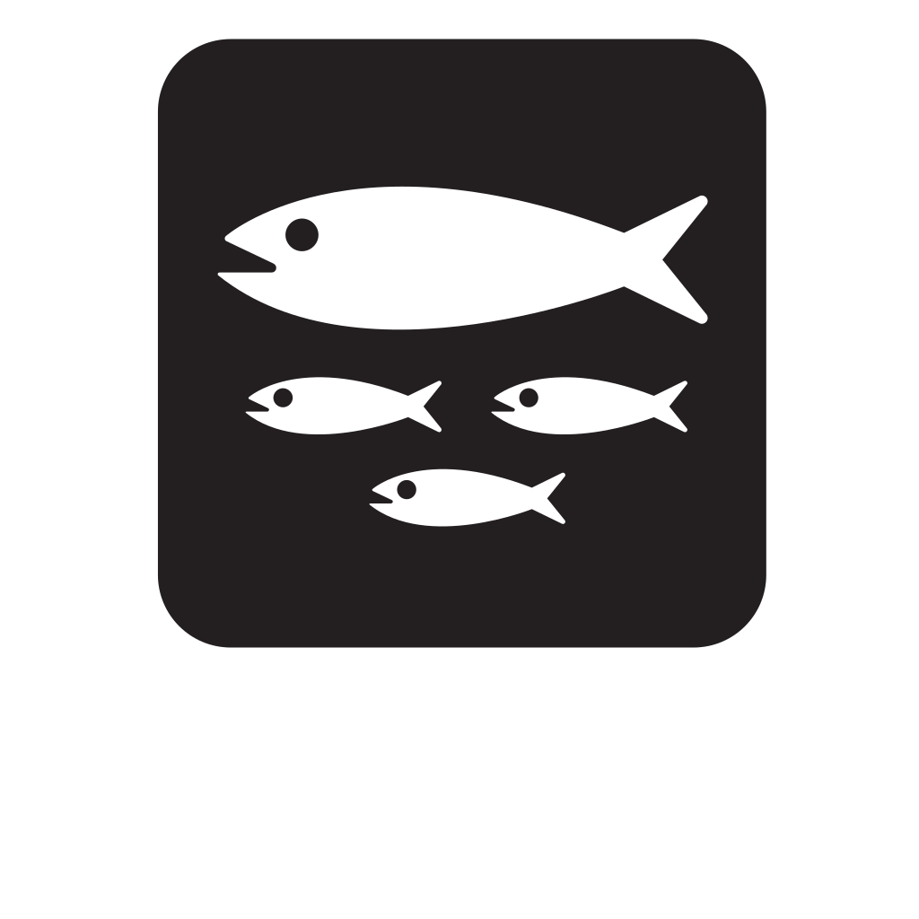 Fish Hatchery Black SVG Clip arts