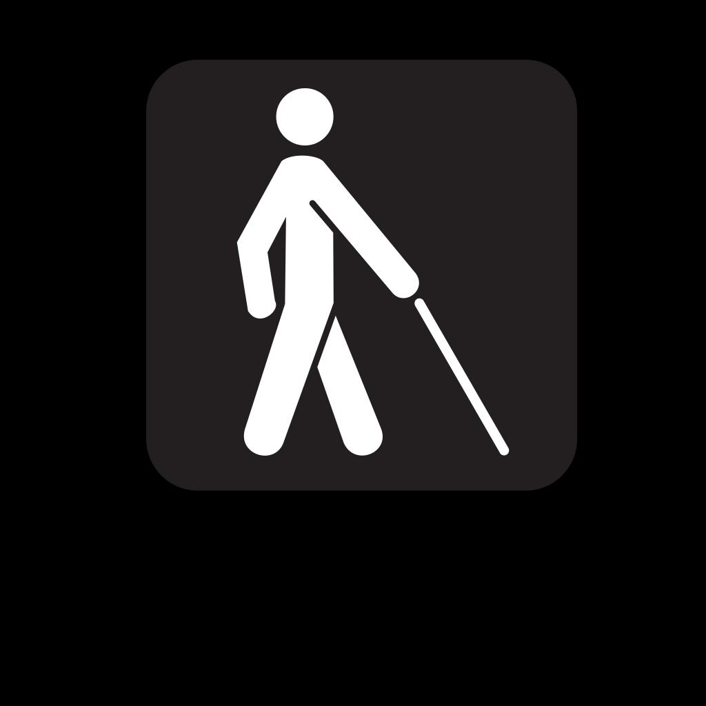 Low Vision Access Black SVG Clip arts