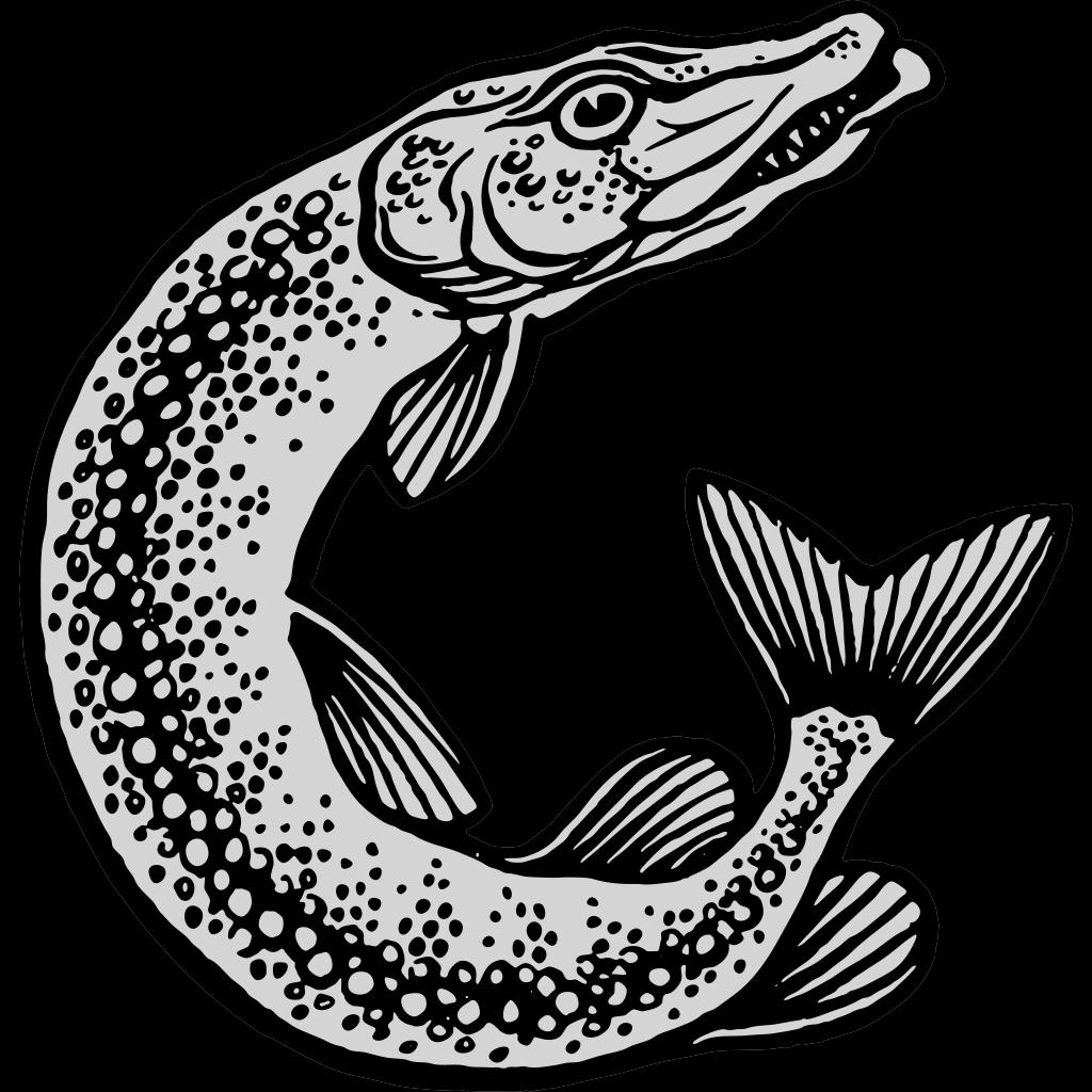 Jumping Fish SVG Clip arts