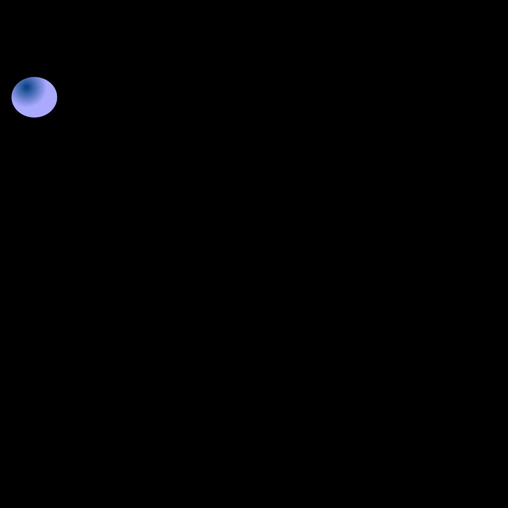 Dark Blue Ball SVG Clip arts