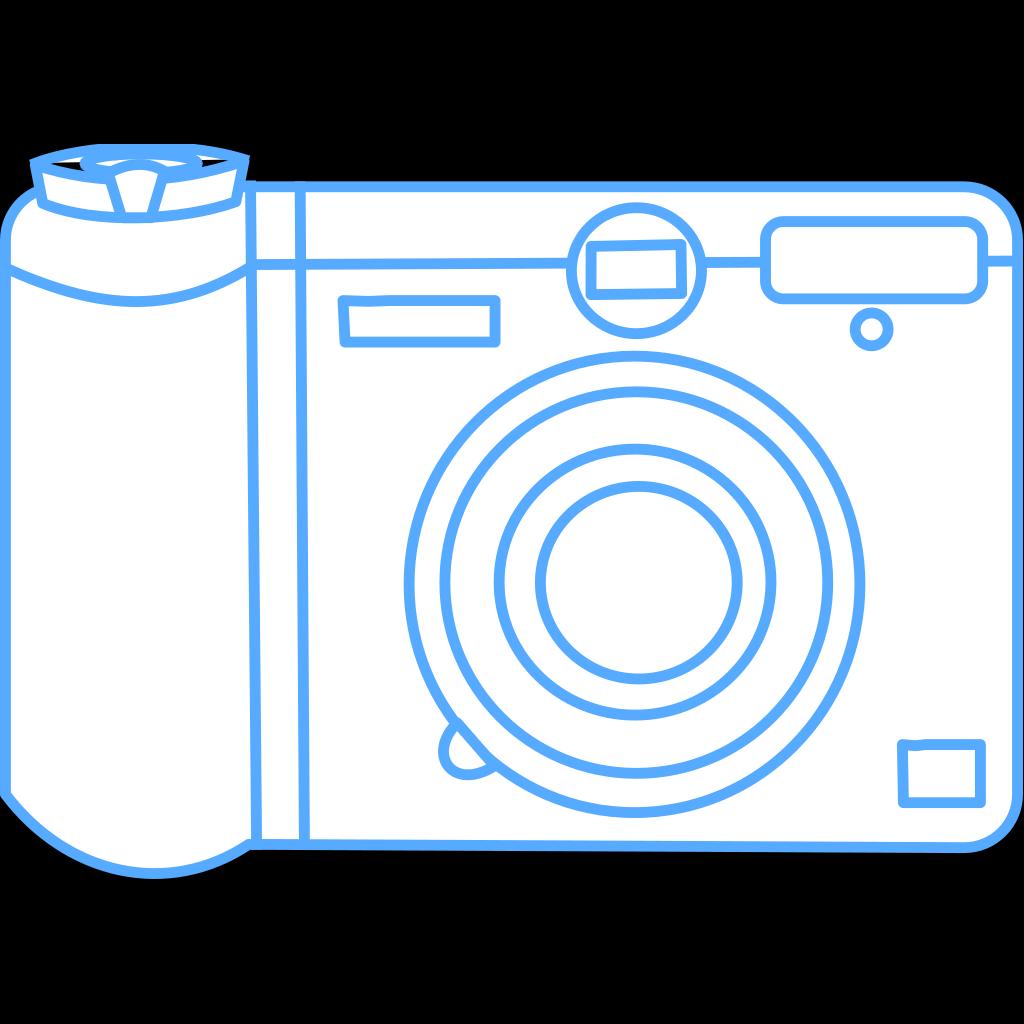 Green Camera Art SVG Clip arts