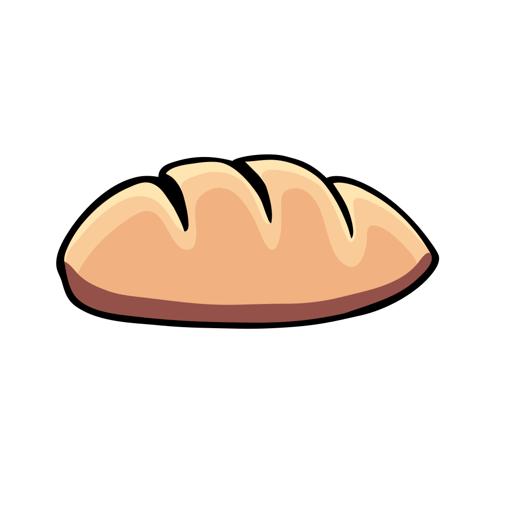 Bread SVG Clip arts