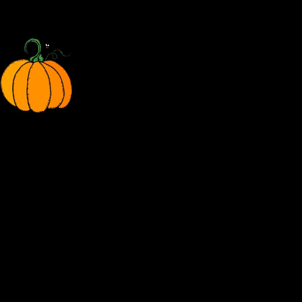 Pumpkins Black And White SVG Clip arts