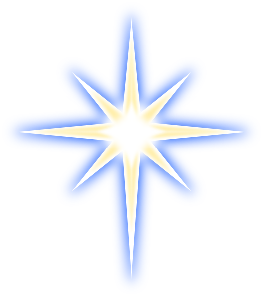 North Star SVG Clip arts