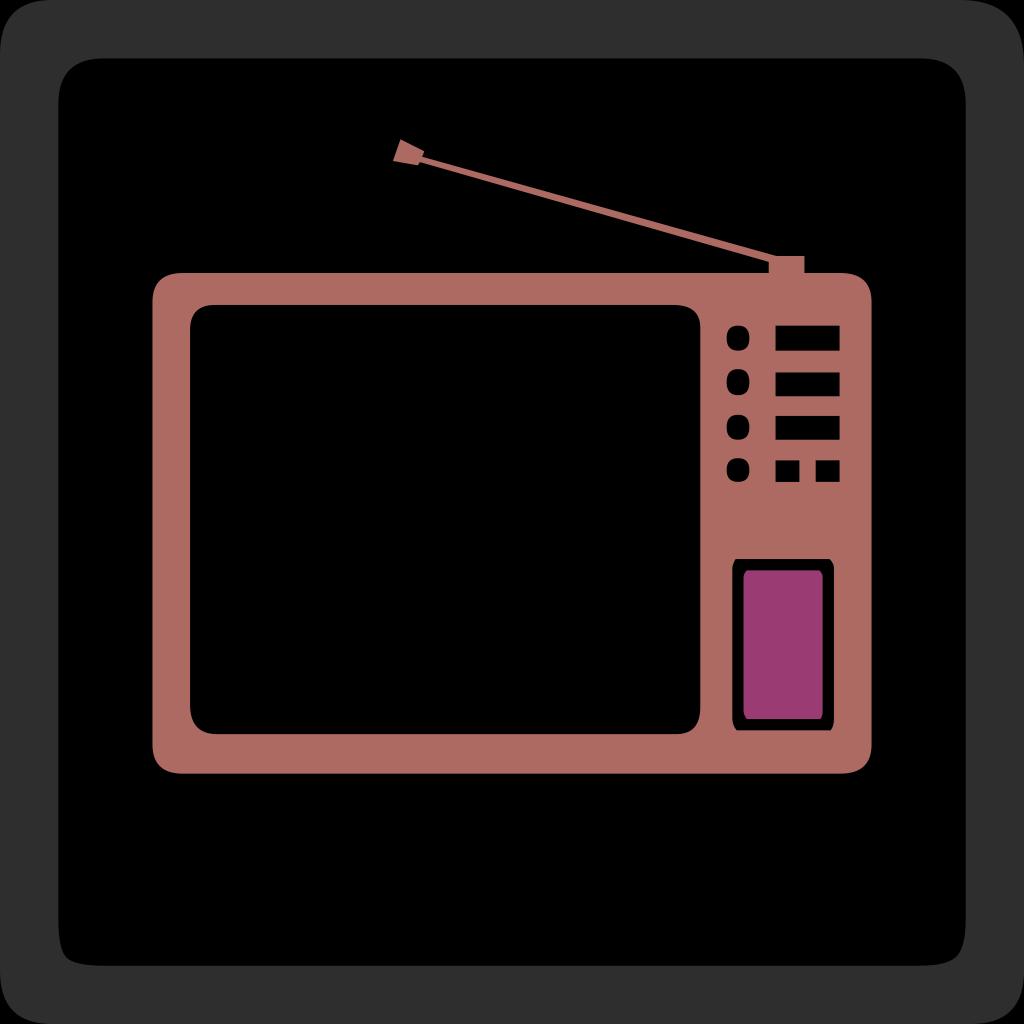 Tv Set SVG Clip arts