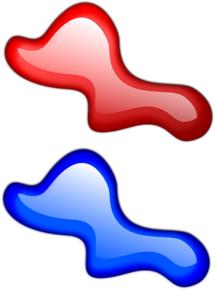 Color Splotches SVG Clip arts