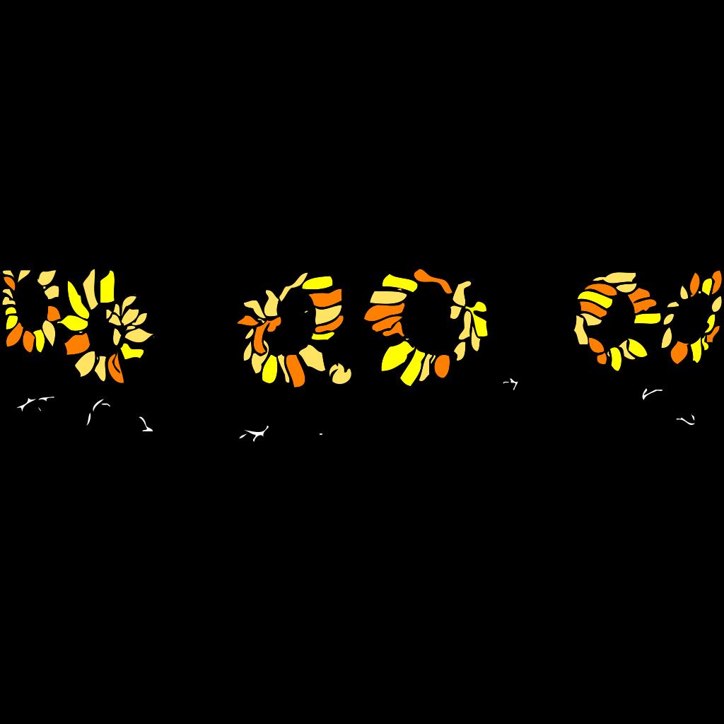 Sunflower SVG Clip arts