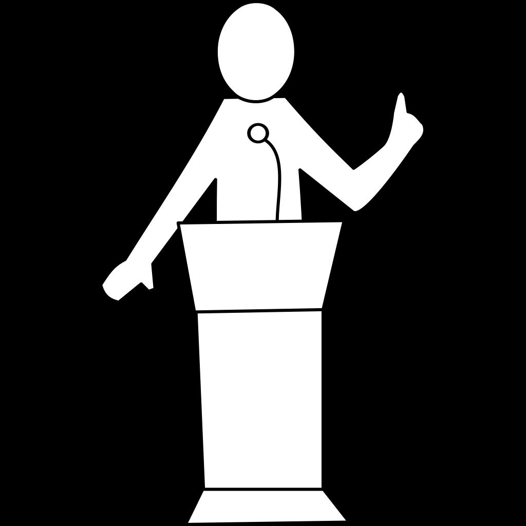 Black Presentation Template SVG Clip arts