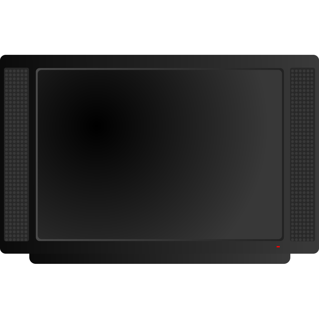 Lcd Hidef Television SVG Clip arts