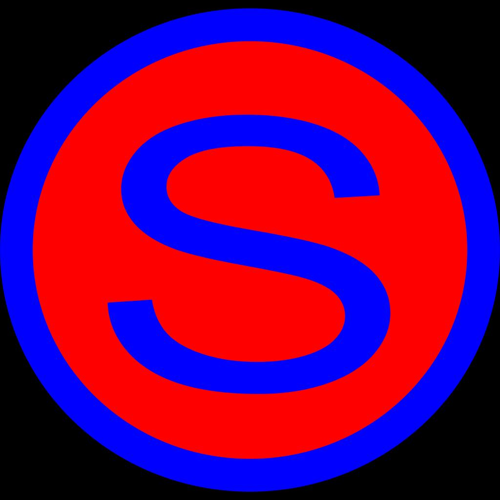 Letter S SVG Clip arts