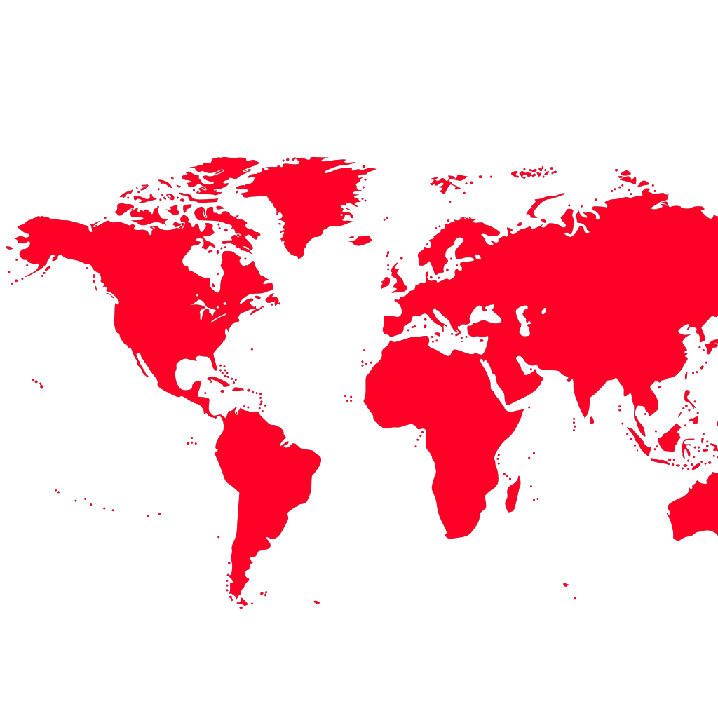 World Map SVG Clip arts