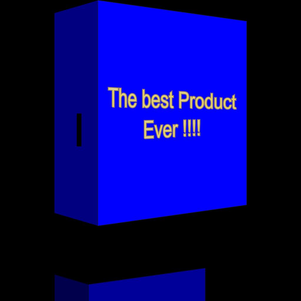 Product Box SVG Clip arts