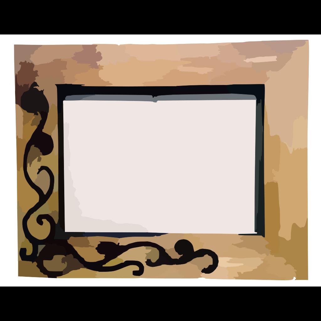 Certificate Frame SVG Clip arts