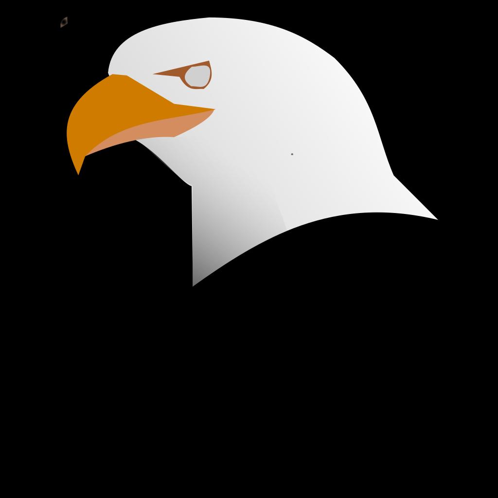 Digital Eagle Head Art SVG Clip arts