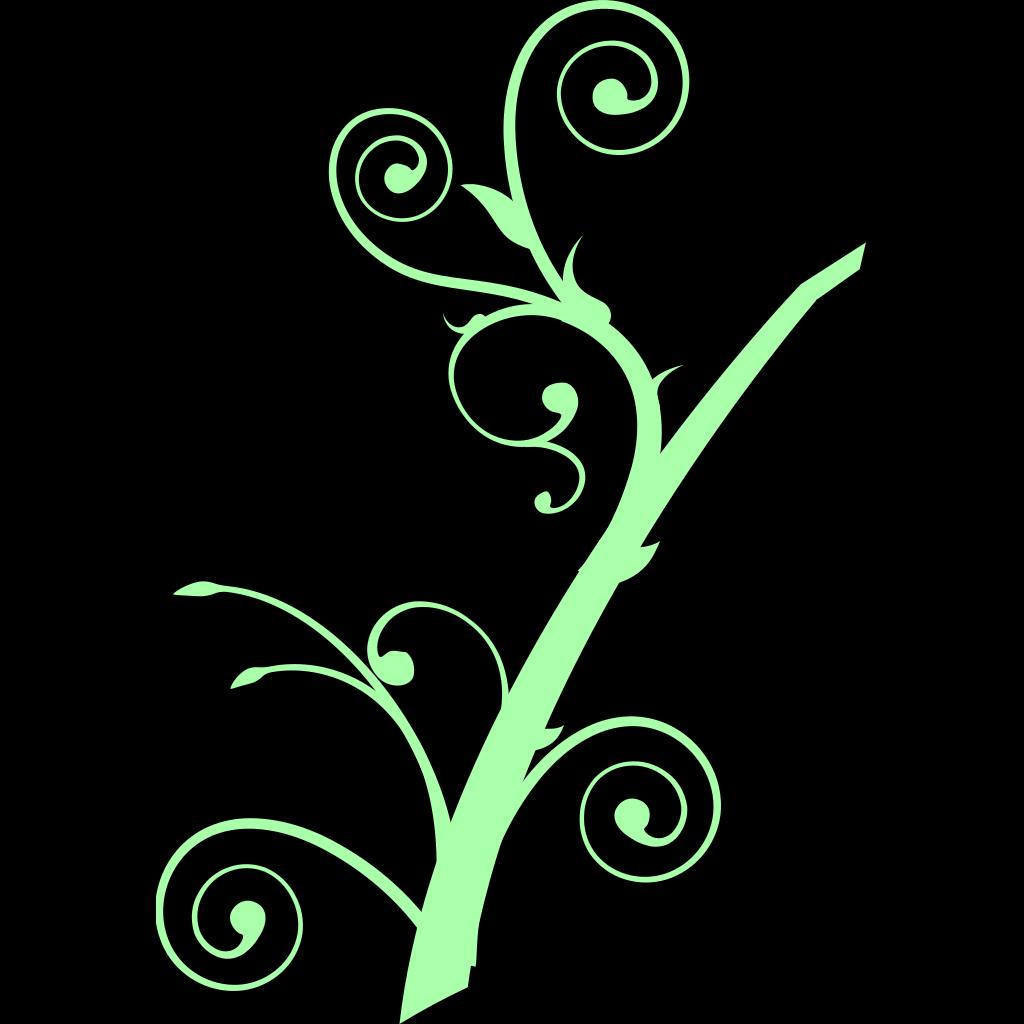 Green Worm SVG Clip arts
