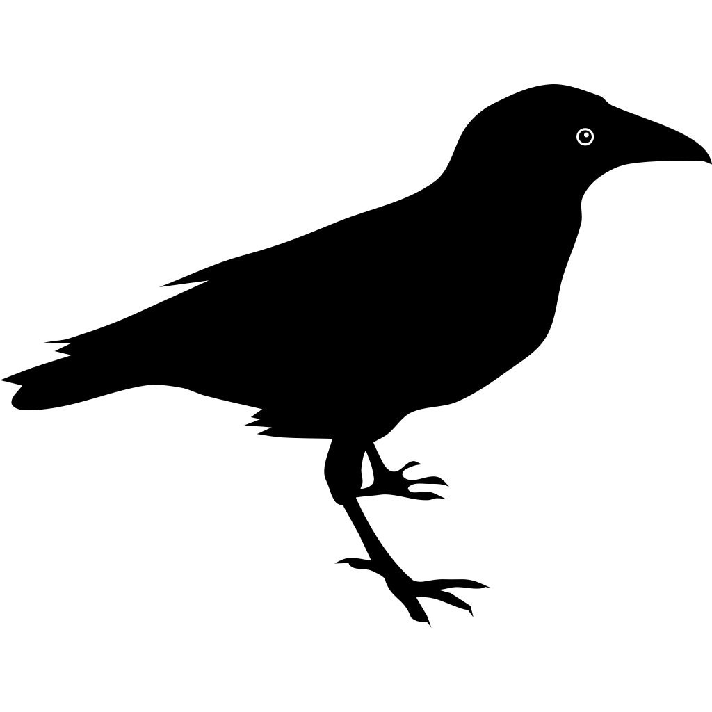 Raven SVG Clip arts