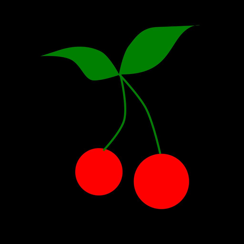 Swallow Cherry SVG Clip arts