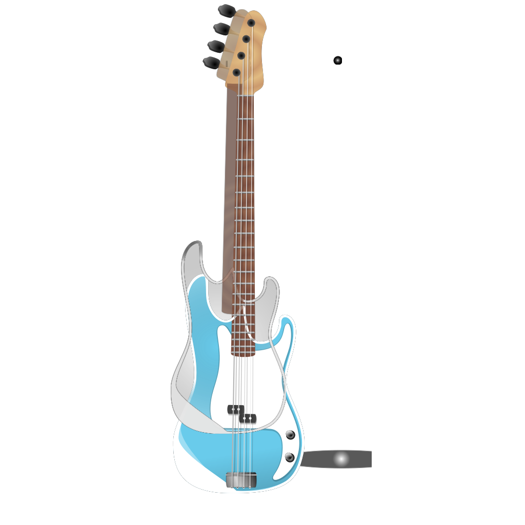 Bass-guitar SVG Clip arts