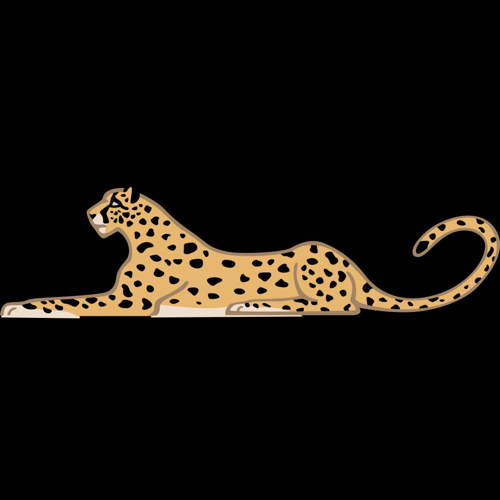 Leopard SVG Clip arts
