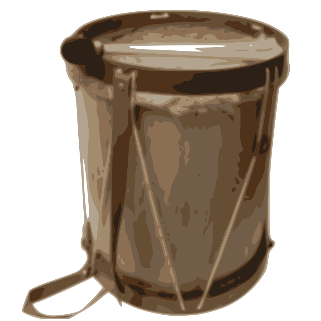 Drums Clip art - Blue - Download vector clip art online