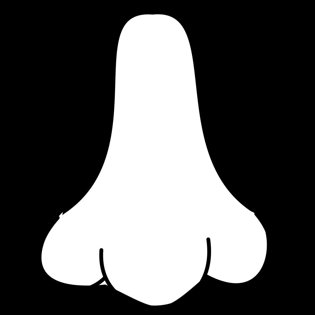 Nose SVG Clip arts