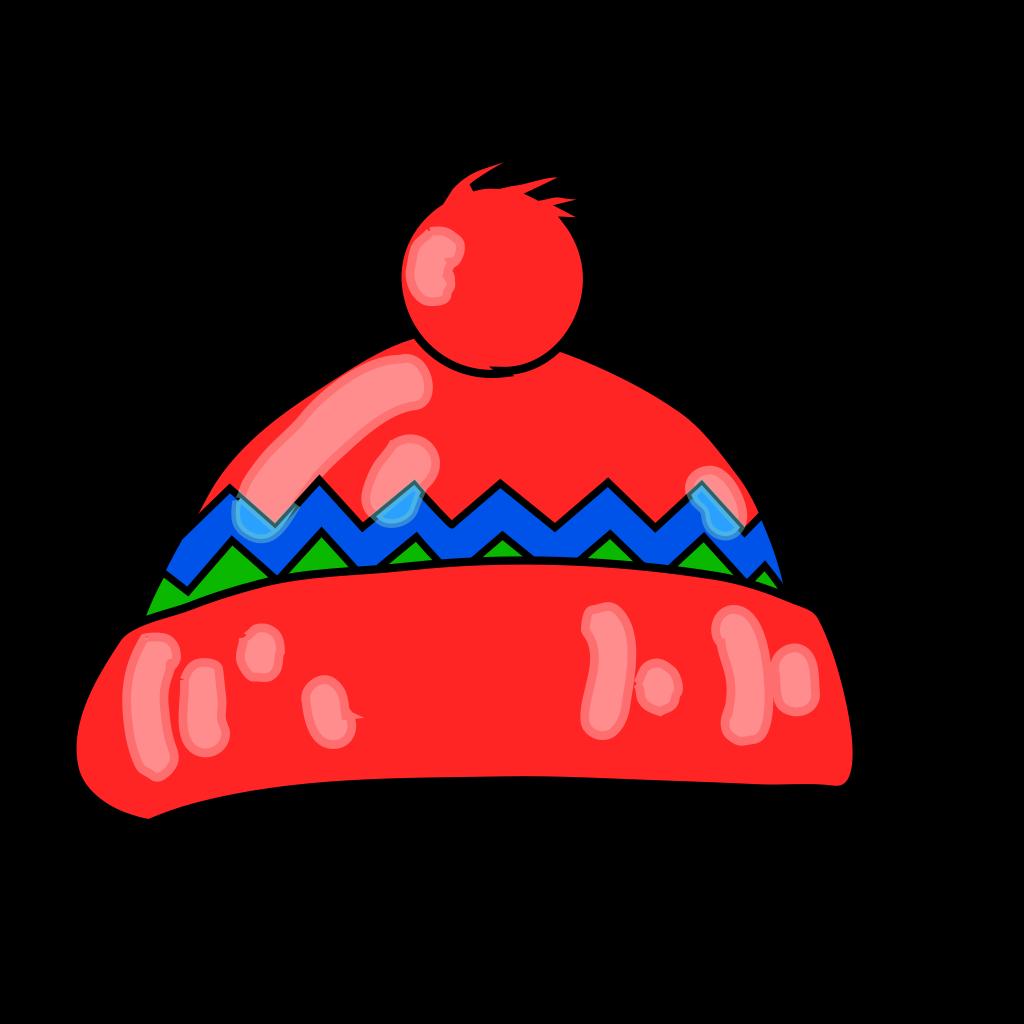 Winter Hat Blue SVG Clip arts