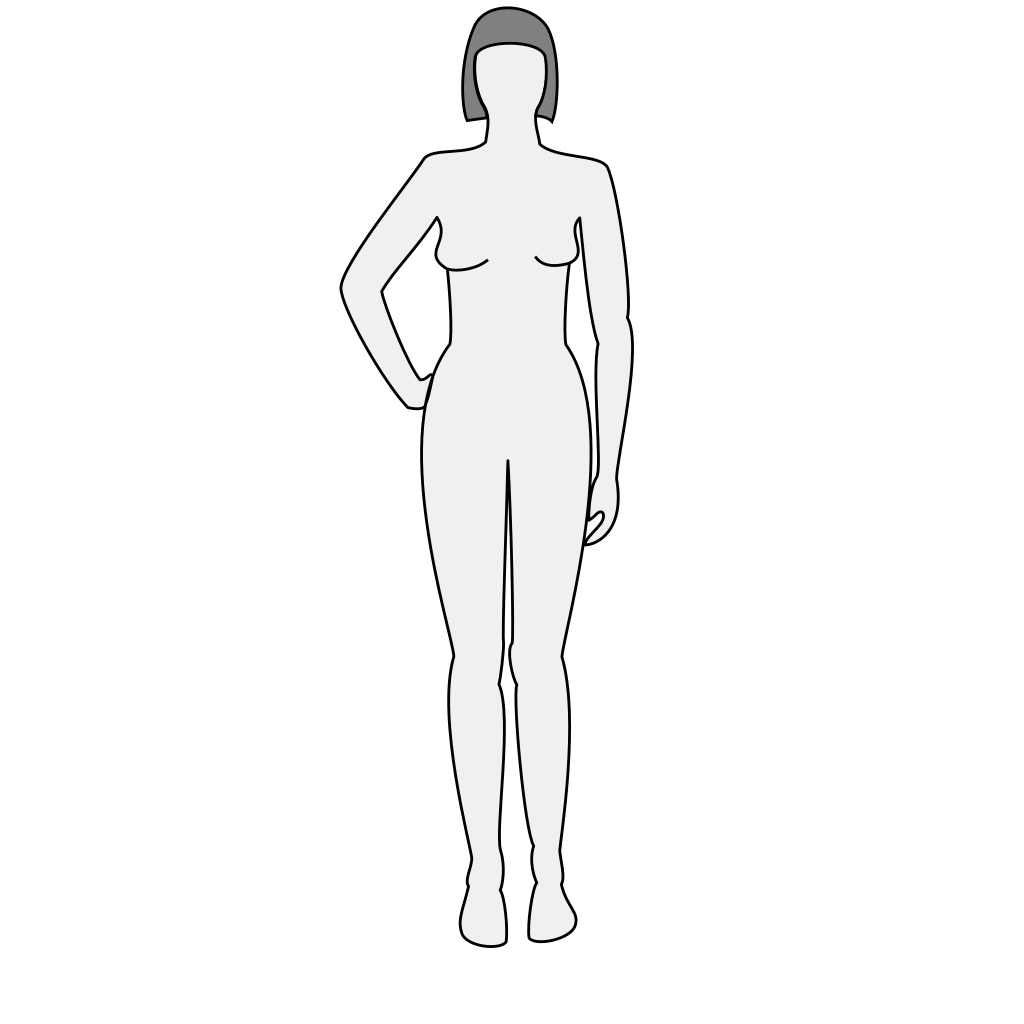 Female Silhouette SVG Clip arts