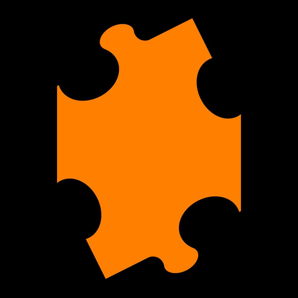Jigsaw Blue Puzzle SVG Clip arts