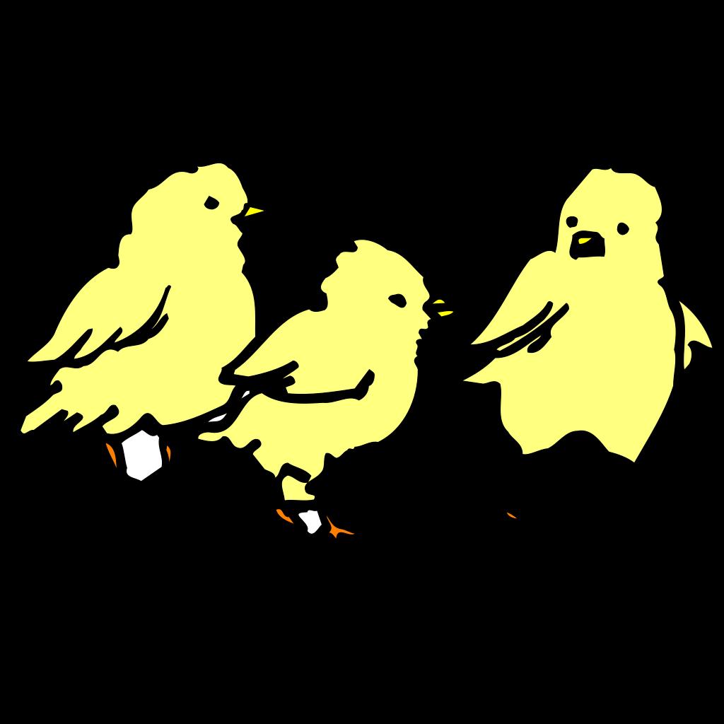 Baby Chicks SVG Clip arts