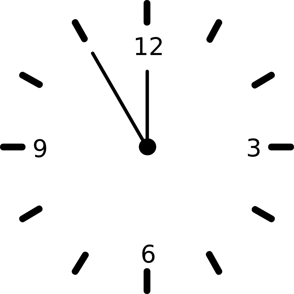 Clock SVG Clip arts