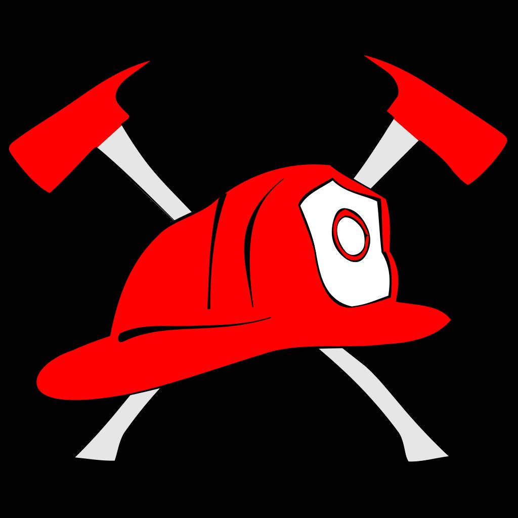 Firefighter Hard Hat SVG Clip arts