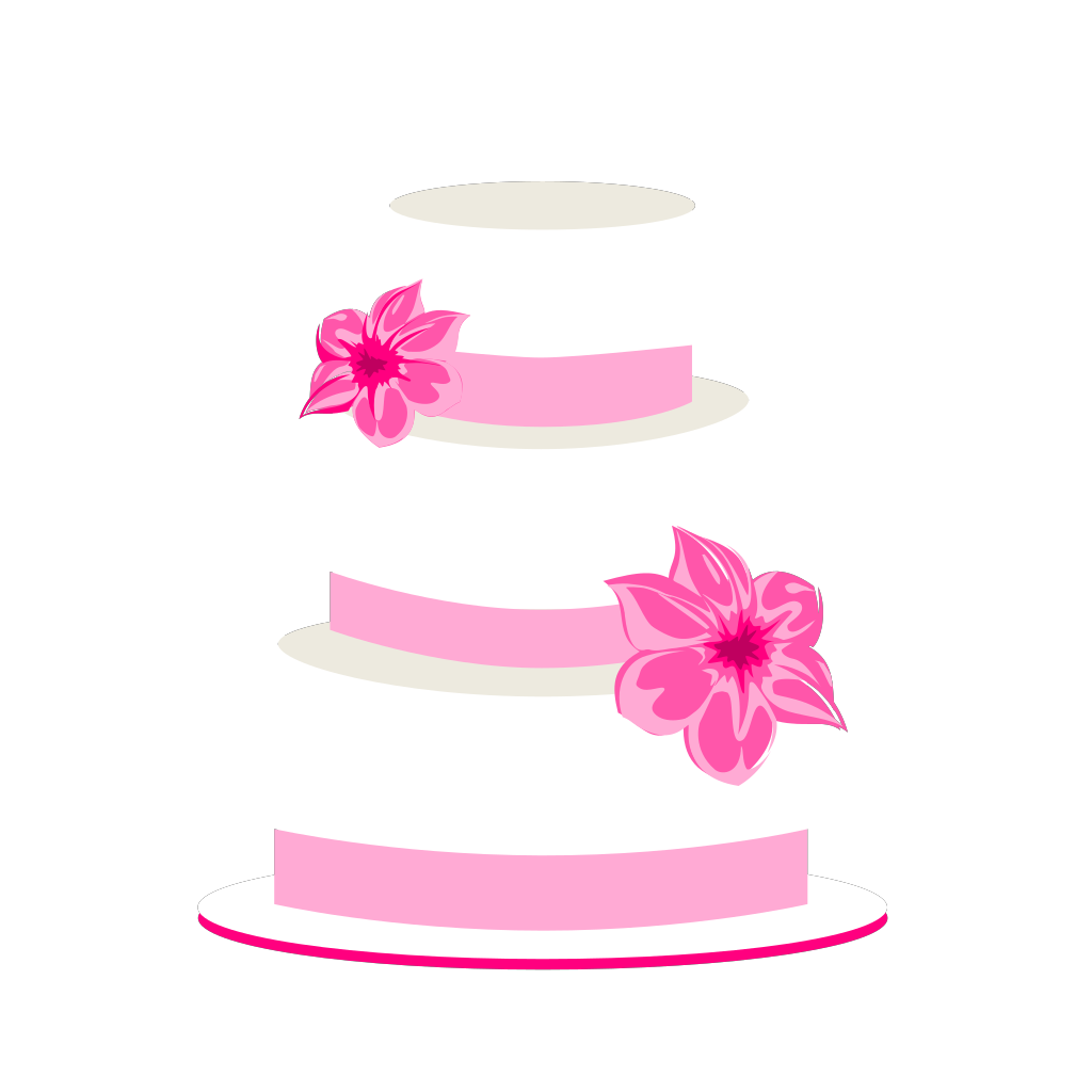 Wedding Cake SVG Clip arts