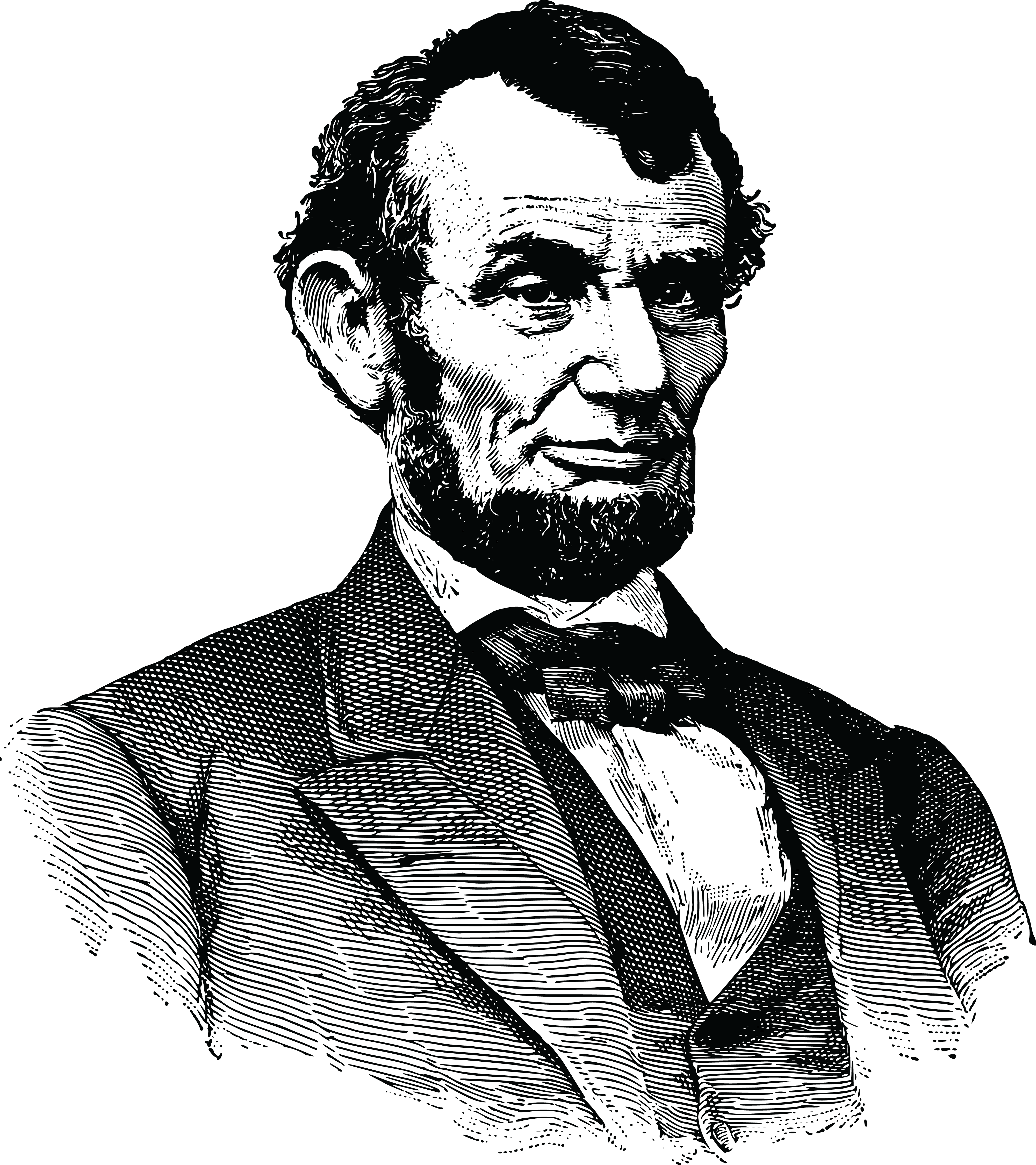 Abraham Lincoln PNG HD SVG Clip arts