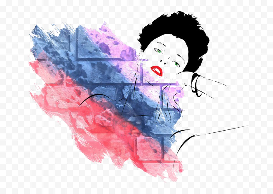 Abstract Woman PNG Picture SVG Clip arts