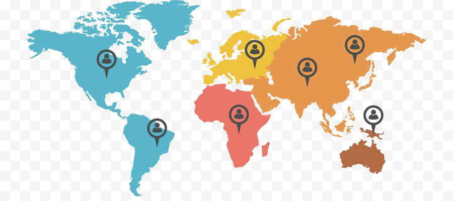 Abstract World Map Background PNG SVG Clip arts