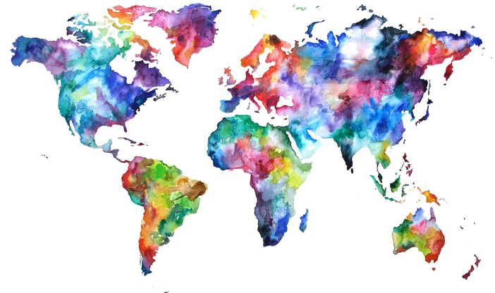 Abstract World Map PNG Free Download SVG Clip arts