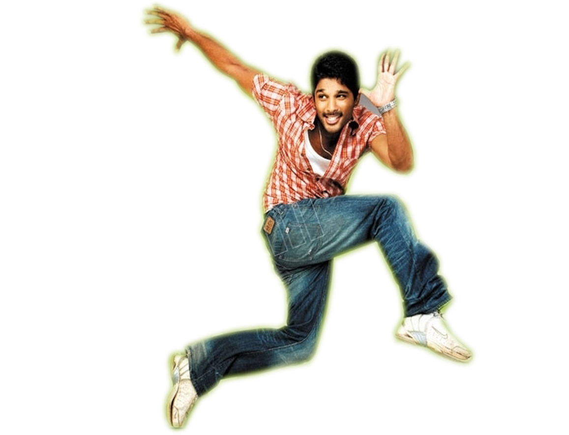 Allu Arjun Transparent Background SVG Clip arts