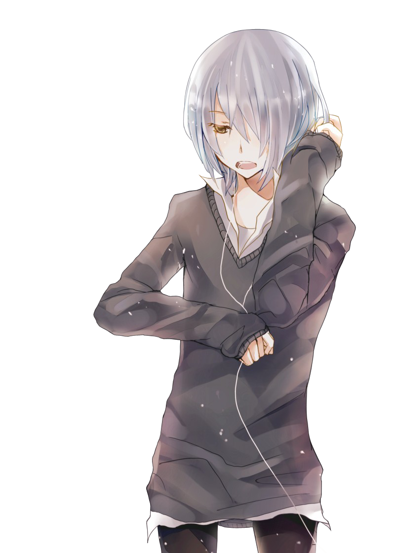 Anime Boy Transparent PNG SVG Clip arts
