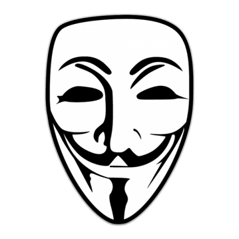 Anonymous Mask PNG Transparent SVG Clip arts