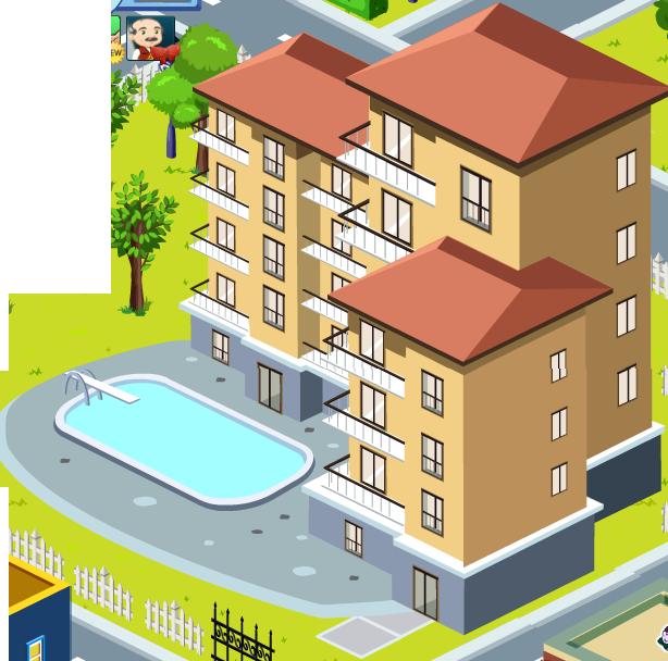 Apartment Transparent PNG SVG Clip arts