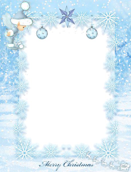 Aqua Border Frame PNG File SVG Clip arts