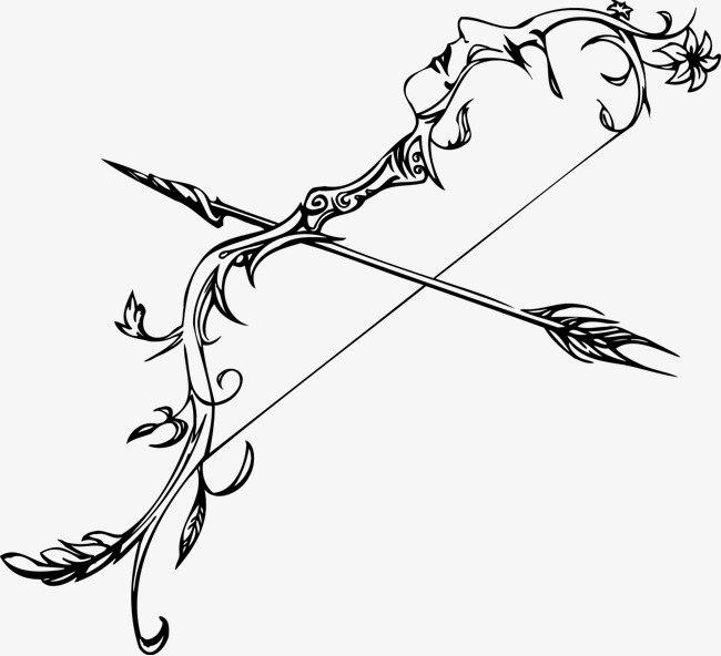 Arrow Bow PNG Clipart SVG Clip arts