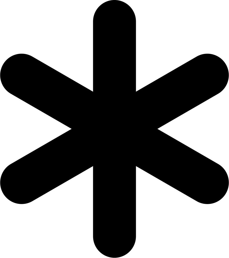 Asterisk Background PNG SVG Clip arts